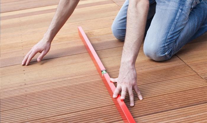 houten terras aanleggen