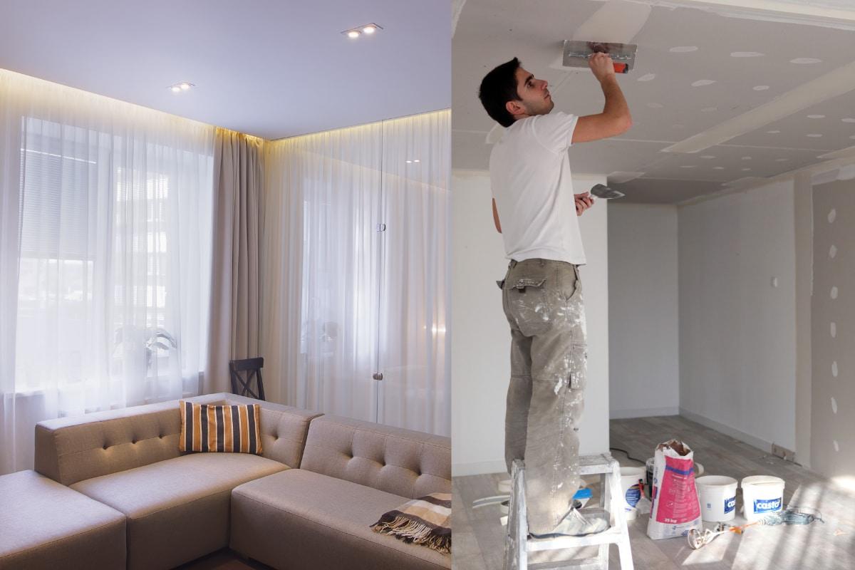 spanplafond of gyproc
