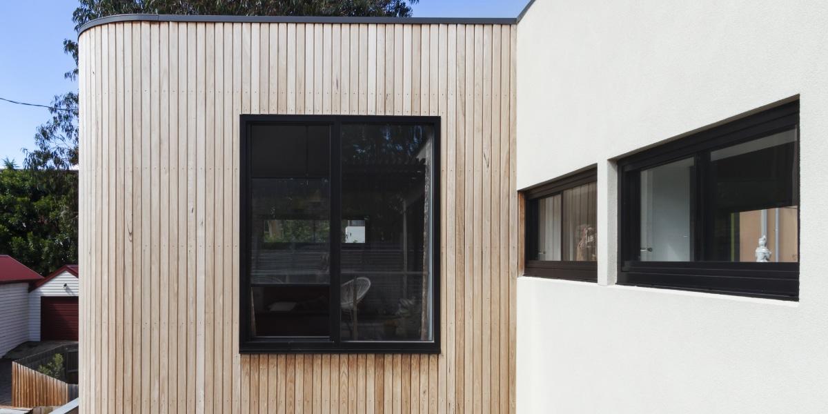 voorgevel renovatie gevelbekleding hout